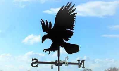 Standard Eagle Metal Weathervane (Vertical Fixing Bracket)