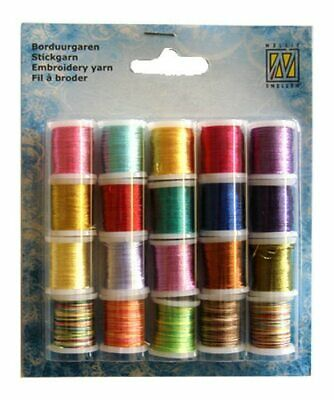 Nellie Snellen Card Embroidery Thread  Set 006 - 20 Spools