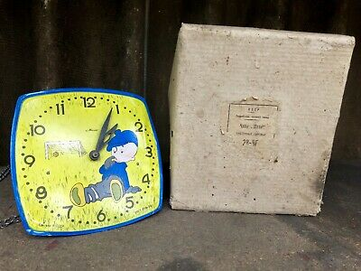 "Rare Russian USSR pendulum Wall Clock ""MAYAK MAJAK"", Spares or Repair"
