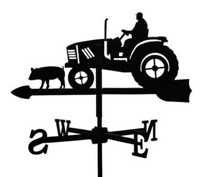 Standard Tractor Metal Weathervane (Vertical Fixing Bracket)