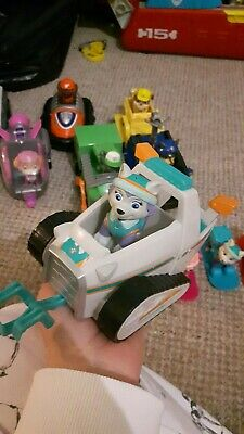 Paw Patrol toys Everest Pup And Snowmobile Vehicle Rare brilliant toy bargain🌟