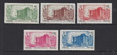 Guadeloupe - B4 - B8 - Mh - 1939 - 150Th Anniversary Of French Revolution