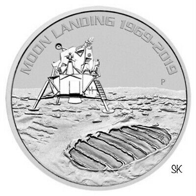 2019 50th Anniversary Moon Landing 1oz Silver Coin