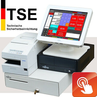 Touchscreen Pc till Retail Catering Epson Printer Scanner Cash Drawer Ka12