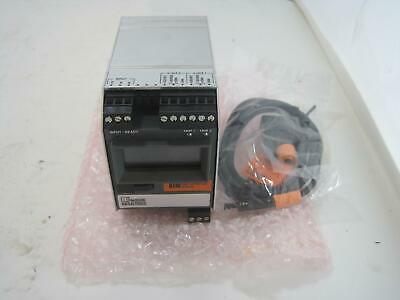 New Moore Industries HIM/Hart/2AO/24DC (DIN) Hart Interface Module w/ Cable