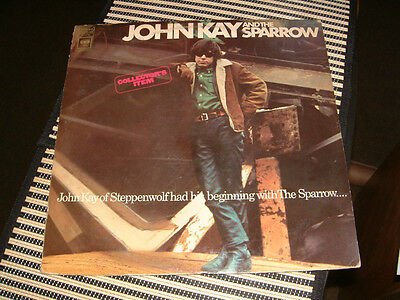 """John Kay And The Sparrow Rare """"Collector's Item"""" Original Release From 1967"""