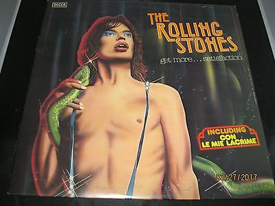 The Rolling Stones Get More Satisfaction Decca 1979 Limited With A Seal On Recor