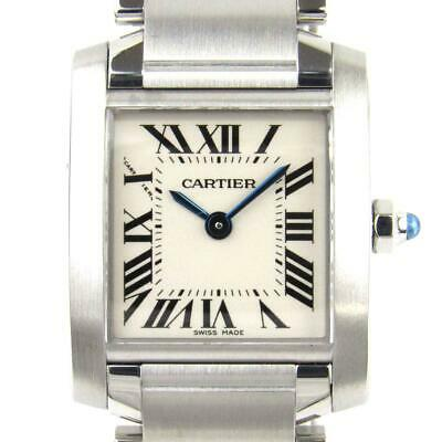 2dd7b43a32930 Auth Cartier Tank Francaise SM watch W51008Q3 Quartz Stainless steel (SS)  Used