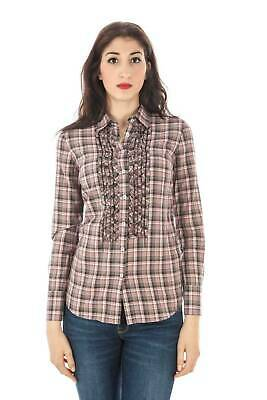 Fred Perry Camicia Rosa 0031 Donna Woman 31213264 Shirt 8052408763652