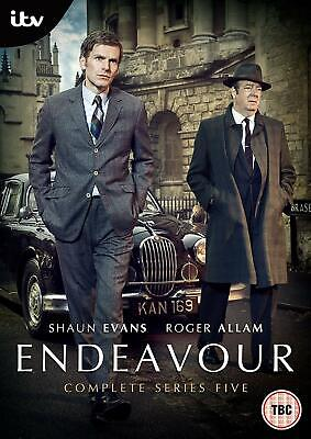 Endeavour Series / Season 5 DVD Brand New Sealed 2018 Region 2 UK Edition
