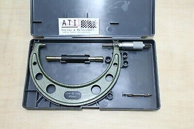 Mitutoyo Outside Micrometer 125 - 150mm , 103 - 142 , Near New, Made in Japan
