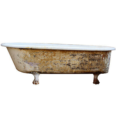 Rare Antique Clawfoot Bath Tub, 6', NCFT5