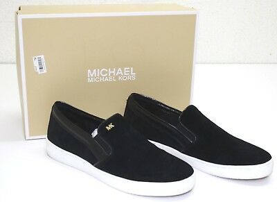 9dbd4fff732e1 MICHAEL KORS MK Women s Leather Designer Keaton Lasered Suede Shoes ...