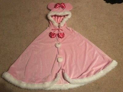 Minnie Mouse Pink Cape One size fits all Adult/Child Costume Disney