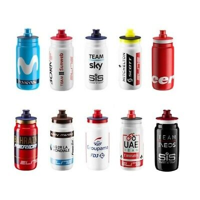 ELITE FLY 2019 PRO CYCLING TEAM BIKE CYCLE DRINK HYDRATION WATER BOTTLE 550ml
