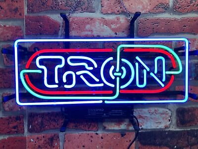 New Tron Recognizer Game Room Beer Bar Party Light Lamp Decor Neon Sign 17""
