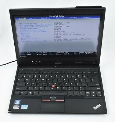 Lenovo Thinkpad X230 Tablet PC Notebook Laptop i5-3320M 2.6GHz 4GB 320GB No OS