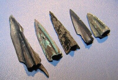 Ancient  arrowheads, bronze. Scythians. RARE. ORIGINAL