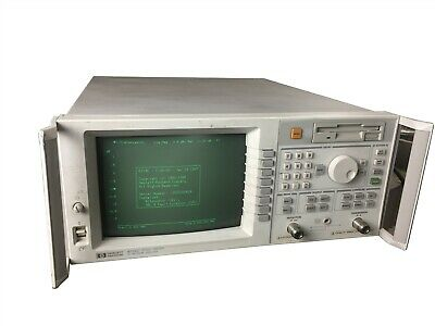HP Keysight Agilent 8714C Network Analyzer 300 kHz- 3GHz Frequency OPT 100 1E1