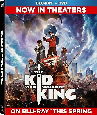 The Kid Who Would Be King (Blu-ray/DVD, 2019, 2-Disc Set) PRE-ORDER, PLEASE READ
