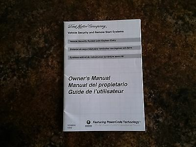 2006 2007 FORD Security & Remote Start System Owners Manual ... Ford Expedition Keyless Entry Wiring Diagram on ford keyless entry remote programming, ford keyless entry battery, toyota keyless entry wiring diagram, ford keyless entry system, mercedes keyless entry wiring diagram, ford keyless entry parts,