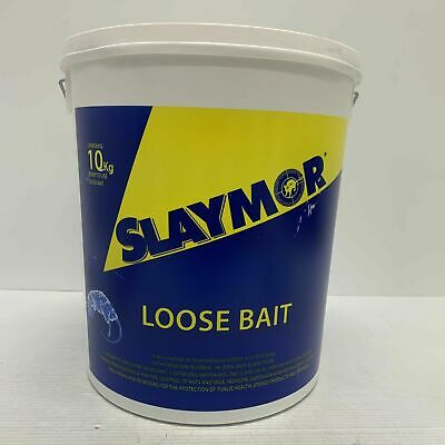 Slaymor Professional Rat & Mouse Poison Rentokil Rodenticides 10 Kg Bucket