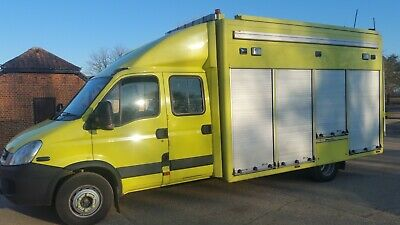 Ambulance Iveco Automatic 6 Seater Incident Support Vehicle 2011 No Vat