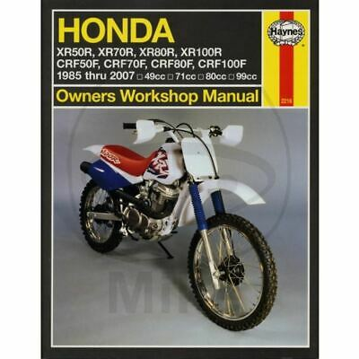 Manuale Officina Haynes 2218 In Inglese Xr R (Ae03A) 2002-2004