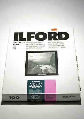 194847 Ilford Multigrade IV RC Deluxe Glossy B&W Photo Paper *OPEN BOX* As-Is