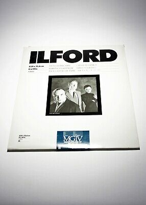 194837 Ilford Multigrade IV RC Deluxe 11x14 Pearl B&W Photo Paper *EXPIRED*