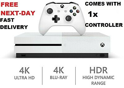 Microsoft Xbox One S 1TB (1000GB) Console With Controller FAST DELIVERY