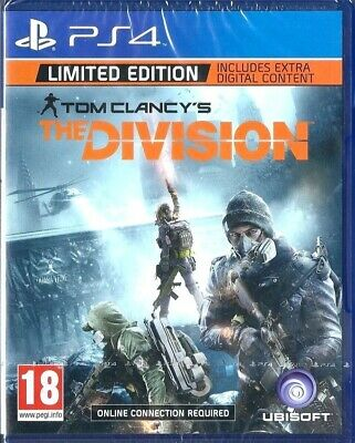 Tom Clancy's The Division Limited Edition (PS4) - new uk pal version