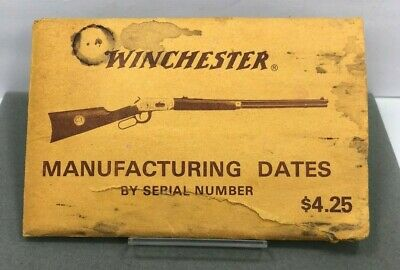winchester manufacture date by serial number