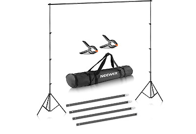 Neewer Photo Video Studio Adjustable Background Stand Backdrop Support System 10