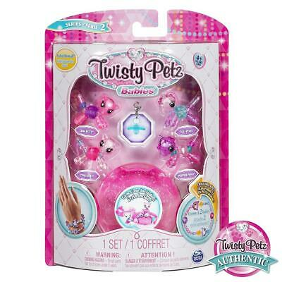 Twisty Petz Verwandlungsarmbänder Babies 4er Set Pack Single Bastelset Spiel