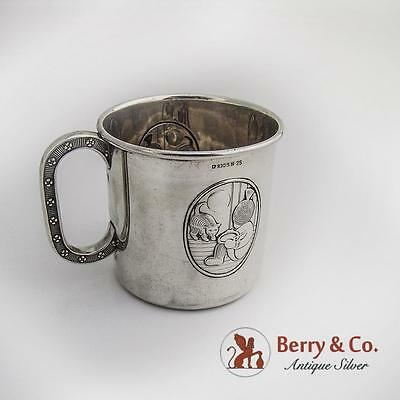 Jacob Tostrup Noste Baby Cup Norwegian 830 Silver 1930