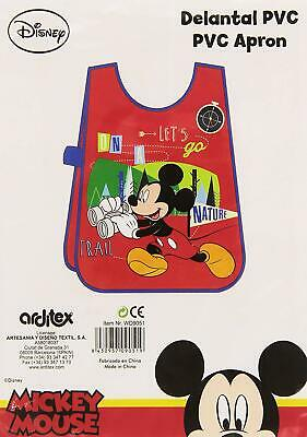 ✔️177770 - Mickey Mouse–Grembiule in PVC (Arditex wd9051)