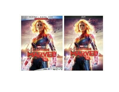 Captain Marvel Blu-Ray Digital & Dvd Pre-Order Releases June 11, 2019