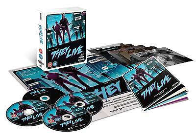 They Live 4K Blu-Ray Studiocanal Limited Collector's Edition Uk, John Carpenter