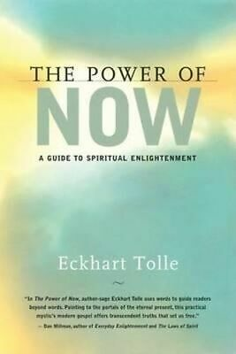 NEW The Power Now By Eckhart Tolle Hardcover Free Shipping
