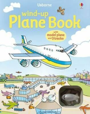 NEW Wind-Up Plane Book By Gill Doherty Novelty Book Free Shipping