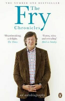 NEW The Fry Chronicles By Stephen Fry Paperback Free Shipping