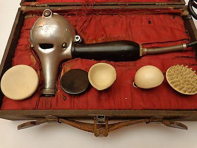 Antique Shelton Electric Massager Vibrator Dated 1917 Quack Medicine Device