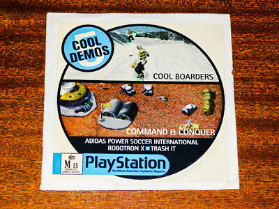5 Cool Demos ~ RARE ~ Sony Playstion ~  PS1 (PAL)