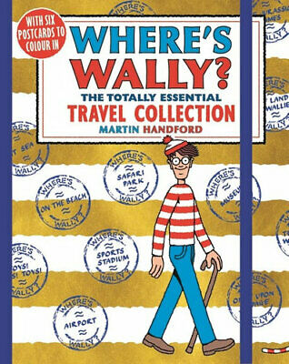 NEW Where's Wally? The Totally Essential Travel Collection By Martin Handford