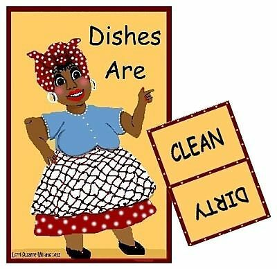 MAMMY Dishwasher MAGNET #1  (Clean/Dirty)  SHIP FREE!