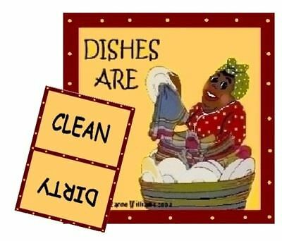 MAMMY Dishwasher MAGNET #2  (Clean/Dirty)  SHIP FREE!