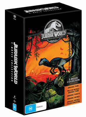 NEW Jurassic World : 5 Movie Collection DVD Free Shipping