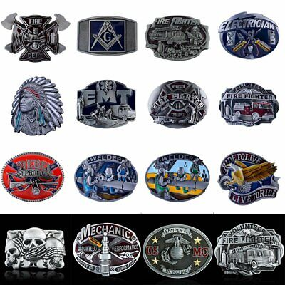 Alloy Metal Mens Cowboy Western Belt Buckle Vintage Buckle Replacement Accessory