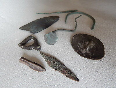 Lot of Ancient Artifacts. Late Bronze Age.